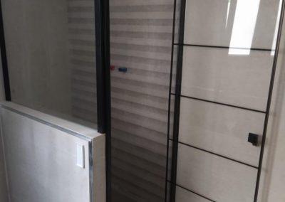 Instalación de cortina de baño